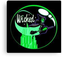 Bewicked Canvas Print