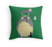 Miyazaki tribute Throw Pillow