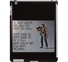 Rambo by Tim Constable iPad Case/Skin