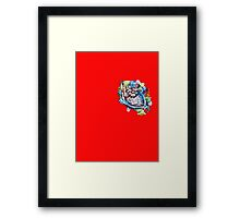 A Graffiti Heart Framed Print