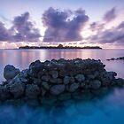Maldivian Sunrise by Mike Garner
