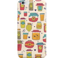 Jars with jams iPhone Case/Skin