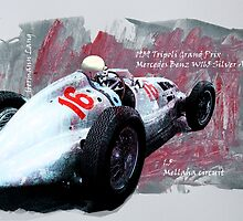 Mercedes Benz W 165 Silver Arrow by Lightrace