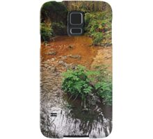 Little stream in autumn colors | landscape photography Samsung Galaxy Case/Skin