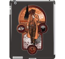 The Gunslinger's Creed. iPad Case/Skin