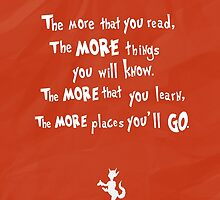 dr seuss the more that you read by chicamarsh1