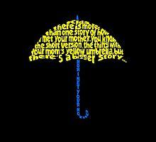 Yellow Umbrella by Annie3
