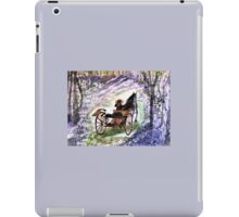 Out In The Meadowbrook Cart  iPad Case/Skin