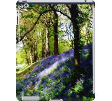 Bank of Bluebells iPad Case/Skin