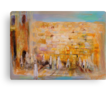 The Western Wall Canvas Print