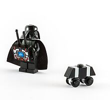 Vader's New Toy by William Rottenburg