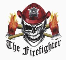 Firefighter Skull 6.1 Kids Clothes