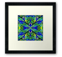 Abstract Palm Framed Print