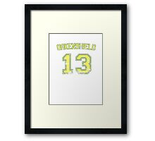 13 Oakenshield Framed Print