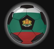 Bulgaria - Bulgarian Flag - Football or Soccer by graphix