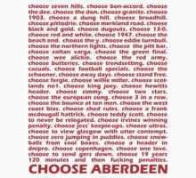 Choose Aberdeen. by givemeone
