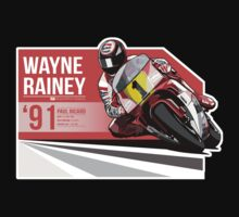 Wayne Rainey - 1991 Paul Ricard T-Shirt