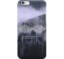 Arctic Monkeys AM Print iPhone Case/Skin