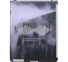 Arctic Monkeys AM Print iPad Case/Skin
