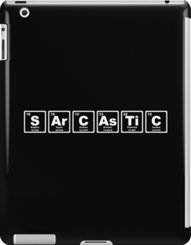 Sarcastic - Periodic Table by graphix