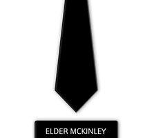 Elder McKinley Tie Name Tag by GoodbyeMrChris