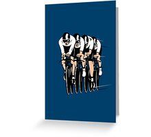 Cycling Team Pursuit Greeting Card