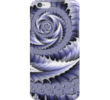 Spiral Leaf Abstract iPhone Case/Skin