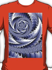 Spiral Leaf Abstract T-Shirt