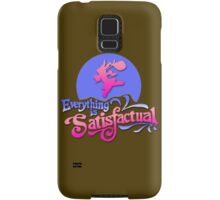 Everything is Satisfactual Samsung Galaxy Case/Skin