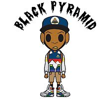 Black Pyramid Dude 1 by 40mill