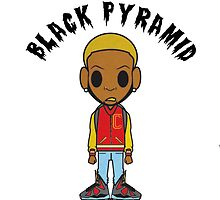 Black Pyramid Dude 2 by 40mill