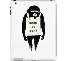 Banksy Keep it Real iPad Case/Skin
