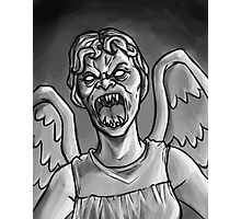 Weeping Angel! Photographic Print
