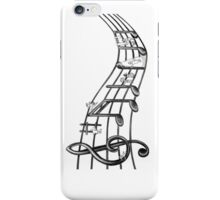 Music Borrowers t-shirt (view large) iPhone Case/Skin