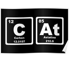 Cat - Periodic Table Poster