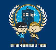 United Federation of Tardis by DoodleHeadDee