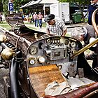 The Interior of a 12 Cylinder Old-Timer by Wolf Sverak