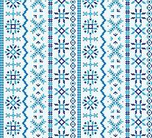 Winter pattern by Richard Laschon
