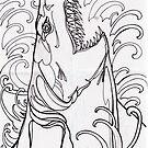 megalodon by resonanteye