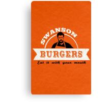 Swanson Burgers Canvas Print