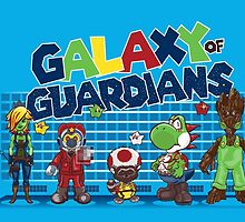 Galaxy of Guardians by DoodleHeadDee