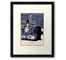 Francois Cevert - F1 1973 Framed Print