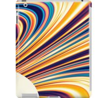 Color and Form Abstract - Solar Gravity and Magnetism 5 iPad Case/Skin