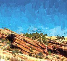 Among the Rocks by Barry  Jones
