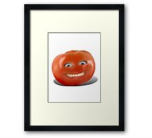 Smiling Tomato - Have a Nice Day! Framed Print