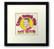 CAN'T TOUCH THIS--MC BARTHAMMER Framed Print