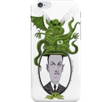H.P.  and the Snorting Hat iPhone Case/Skin