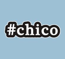 Chico - Hashtag - Black & White by graphix