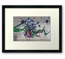 Gruesum Toothsum-Tucson wall art Framed Print