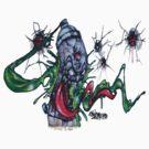 Gruesum Toothsum-Tucson wall art by DAdeSimone